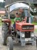 Willst du vielleicht selber mal Traktor fahren?